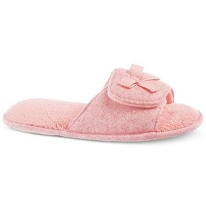 Isotoner Microterry Adela Slide Slippers 8.5 - 9